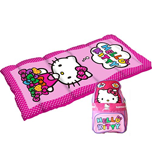 Hello Kitty 2 Piece Sleeping Bag and Oxford Hello Kitty Backpack Camp Combo (Hello Kitty Bakery Set compare prices)