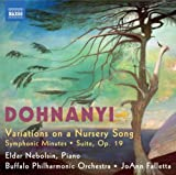 Erno von Dohnanyi Dohnanyi: Variations (Variations On A Nursery Song/ Suite/ Symphonic Minutes)