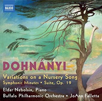 Dohnanyi: Variations on a Nursery Song; Symphonic Minutes; Suite , Op. 19