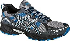 ASICS Men's GEL-Venture 4 Running Shoe,Charcoal/Carbon/Blue,11 4E US