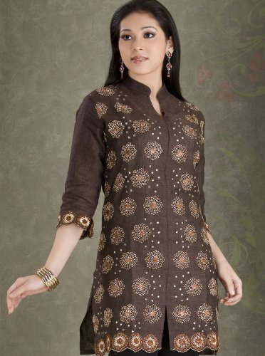 3/4th sleeve cotton tops / kurta / dresses  for ladies / womens