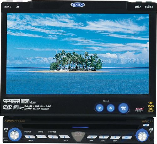 Jensen VM9311TS - DVD player with LCD monitor and AM/FM tuner