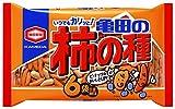 亀田製菓 亀田の柿の種6袋詰 200g ランキングお取り寄せ