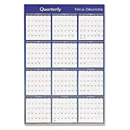 At-A-Glance 2015 Vertical/Horizontal Planner Dry Erase Board
