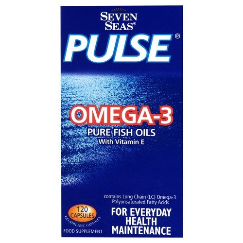 Seven Seas Pulse Capsules Fish Oil 120