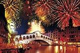 1000ピース めざせ!パズルの達人 ヴェネツィアとその潟III-リアルト橋[イタリア] (50x75cm)