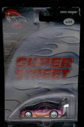 Hot Wheels 2002-4/4 Super Tsunami Super Street Series 1:64 Scale - 1