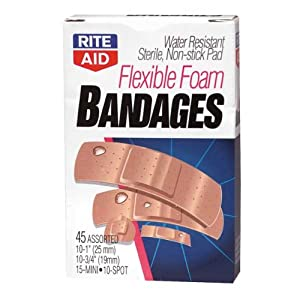 Rite Aid Bandages Flexible Foam Assorted