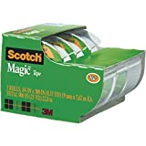 Scotch Magic Tape , 3/4 x 300 Inches, 3 Pack  (3105)