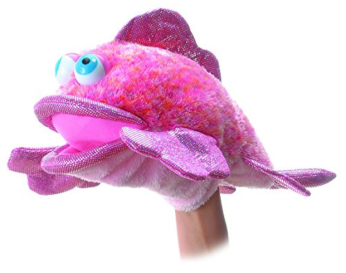 "Aurora Plush Coral Fish Body Puppet 12"" by Aurora"