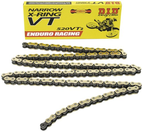 D.I.D 520Vt2 Racing Narrow T-Ring Chain - 120 Links 520Vt2-120 Link