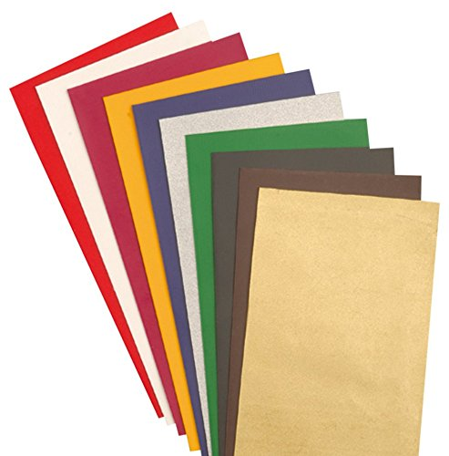 EFCO Wax Sheet, Multi-Colour, 200 x 50 x 0.5 mm, 10-Piece