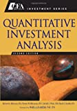 img - for Quantitative Investment Analysis (CFA Institute Investment Series) book / textbook / text book