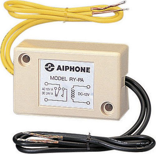 Aiphone Corporation RY-PA Door Release Relay for LEF Series, ABS Plastic Construction