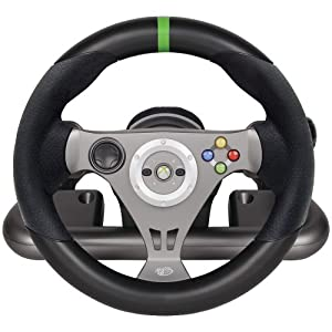 Xbox 360 Wireless Racing Wheel - Wireless Edition