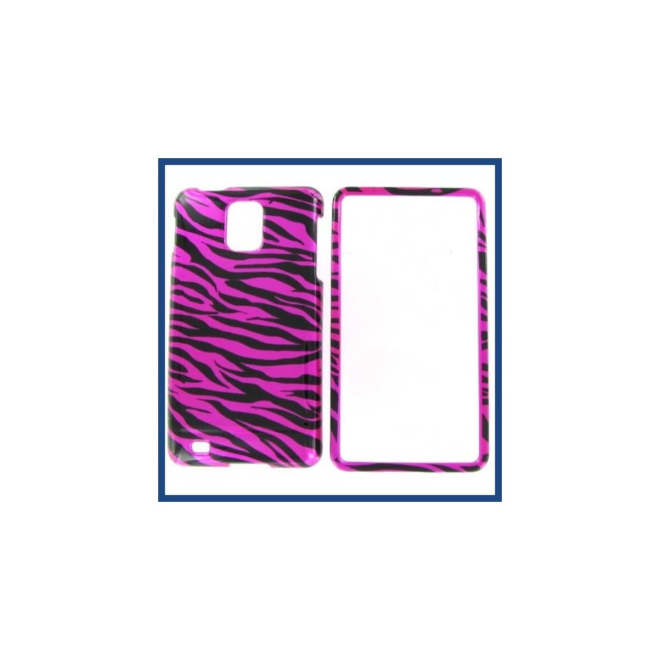Samsung i997 (Infuse 4G) Zebra On Hot Pink (Hot Pink/Black) Protective Case Computers & Accessories