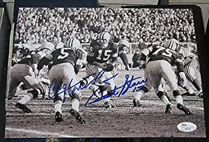 Bart Starr Paul Hornung Green Bay Packers Signed 8x10 Photo Jsa coa Autographed -... by Sports Memorabilia