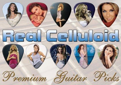 Classic Rock Guitar Celine Dion Premuim Plektrons X 10 (0)