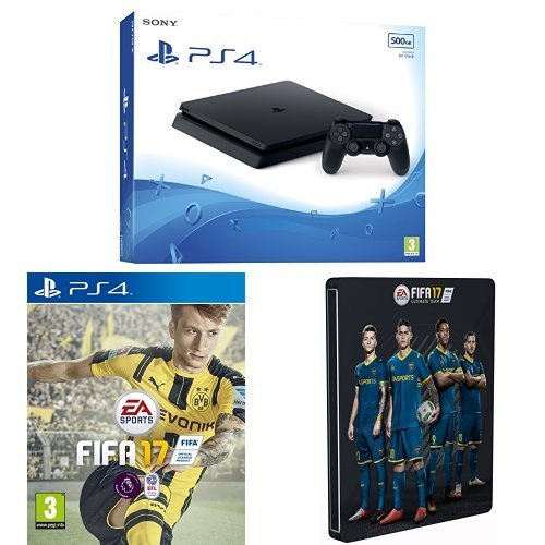 sony-playstation-4-500gb-fifa-17-standard-steelbook-exclusive-to-amazoncouk