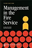 img - for Management in the Fire Service by Harry R. Carter (2006-05-23) book / textbook / text book