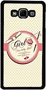 PrintVisa Case Covers for Samsung Galaxy A3 (D7777 Girly Quotes)
