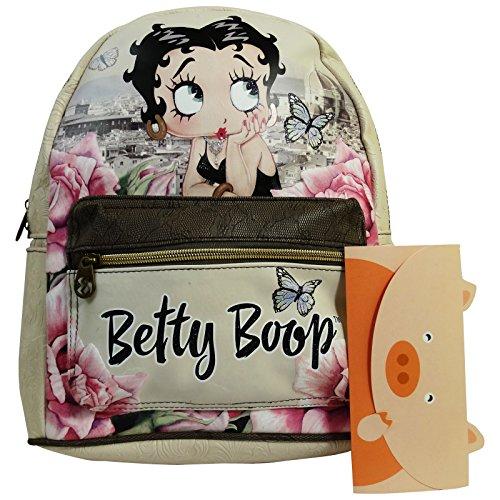 Betty Boop Florence Zaino da Donna Morbido Borsa a Spalla Tempo Libero