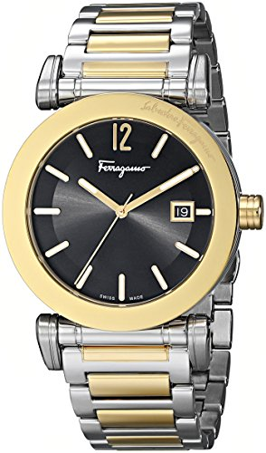 Salvatore-Ferragamo-Mens-FP1960014-Salvatore-Analog-Display-Quartz-Two-Tone-Watch