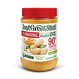 Betty Lou\'s Just Great Powdered Peanut Butter, 6.35-Ounce Jar