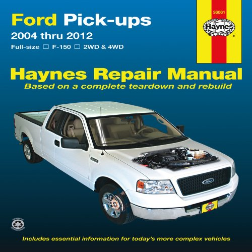 Ford Pick-ups: 2004 thru 2012 (Hayne's Automotive Repair Manual) (Ford F150 Truck Accessories compare prices)