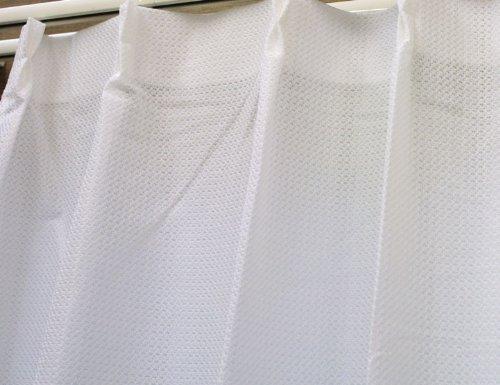 紫外線カット!防音・特殊コーティングレースカーテン「静」SHIZUKA サイズ:幅100×丈198cm×1枚