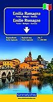 Emilie - Romagne (Parme, Bologne, Ravenne) - Carte régionale Italie (échelle : 1/200 000)