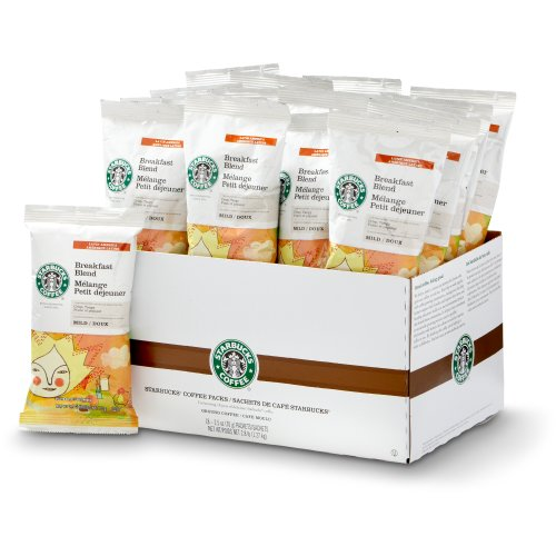 Starbucks Breakfast Blend, Portion Pack Coffee (18Ct)