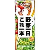 カゴメ 野菜1日これ1本(紙パック)200ml×24本