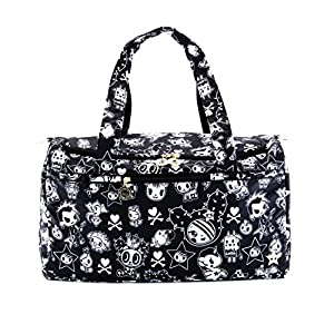 Ju-Ju-Be Starlet Travel Duffel Bag with Zippered Pockets, The Kings Court from Ju-Ju-Be