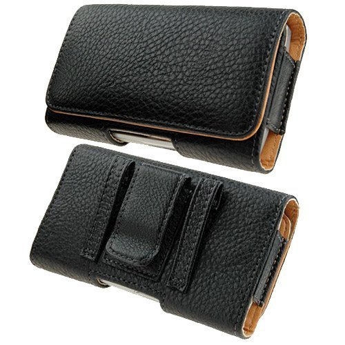 Leather Side Case Belt Clip Cover Pouch for iPhone