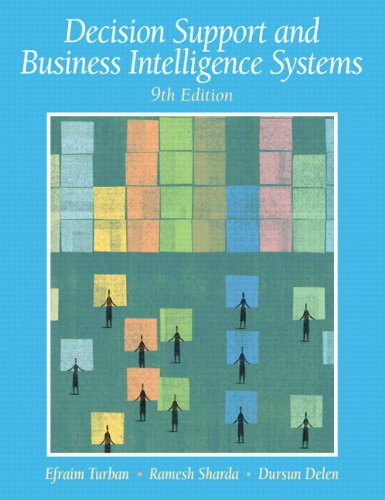 Decision Support and Business Intelligence Systems (9th...