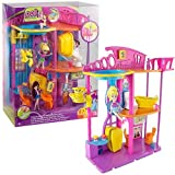 Polly Pocket Hangout House - With Polly Doll, Pet and Furniture