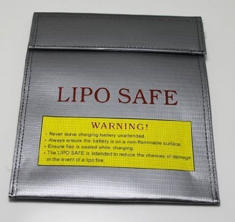 Free US Ship Lipo Battery Fireproof Bag Storage Bag Lipo Battery Guard Safe Bag Fiber Material for Charge & Storage 30x23cm