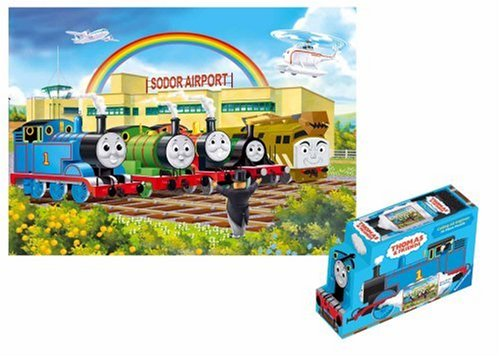 51HwBtUViiL Cheap Price Thomas & Friends: Calling All Engines   24 Piece Floor Puzzle in a Shaped Box
