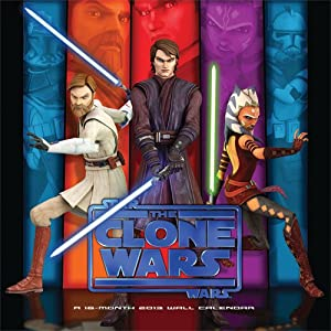 (12x12) Star Wars The Clone Wars 16-Month 2013 Wall Calendar