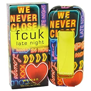 French Connection FCUK Late Night by French Connection Eau De Toilette Spray 3.4 oz / 95 ml