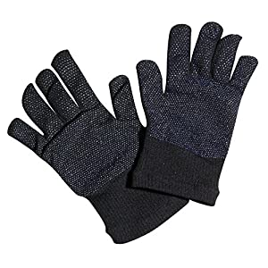Amazon.com : Black Everyday Wear Gripper Gloves - Outdoor