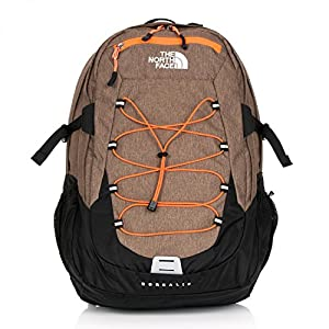 The North Face Borealis Backpack - Utility Brown Heather/Power Orange, 29 Litre