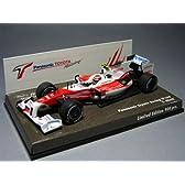 【ヨーロッパトヨタ別注/MINICHAMPS/ミニチャンプス】 1/43 パナソニック トヨタ レーシング TF109 No.10/2009 F1 ・T.グロック
