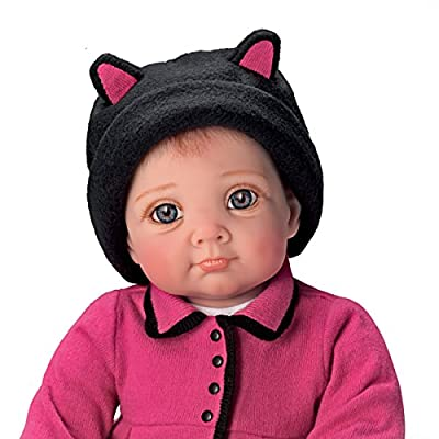 "Elly Knoops Little Kitten Lost Her Mitten So Truly Real 20"" Baby Doll by The Ashton-Drake Galleries"