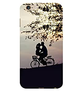 Father Daughter Cute Fashion 3D Hard Polycarbonate Designer Back Case Cover for Apple iPhone 6S