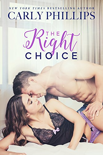 Is it possible to marry for friendship and no sexual spark? Advice columnist Carly Wexler says no problem… Until she meets Mike Novak, her fiancé's brother.  The Right Choice by Carly Phillips