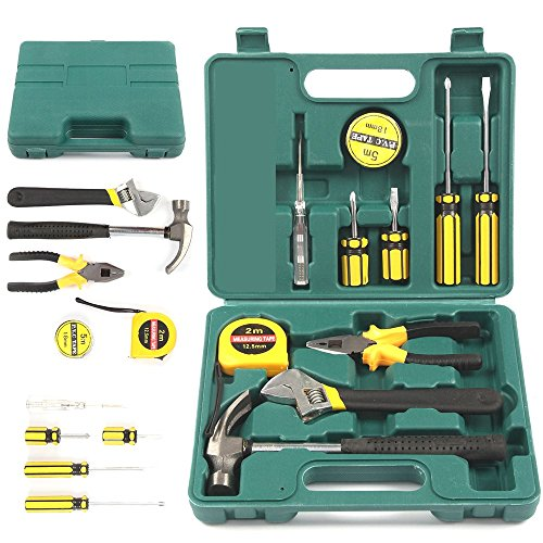 Tool set home 12pcs tech professional basic fix repair for Basic tools for planting