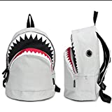 CrazyPomelo Big Shark Backpack From Pomelo (White)