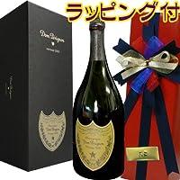正規品  ドン・ペリニヨン(ドンペリ) 2004 箱入りラッピング-赤【ギフト化粧箱入】
